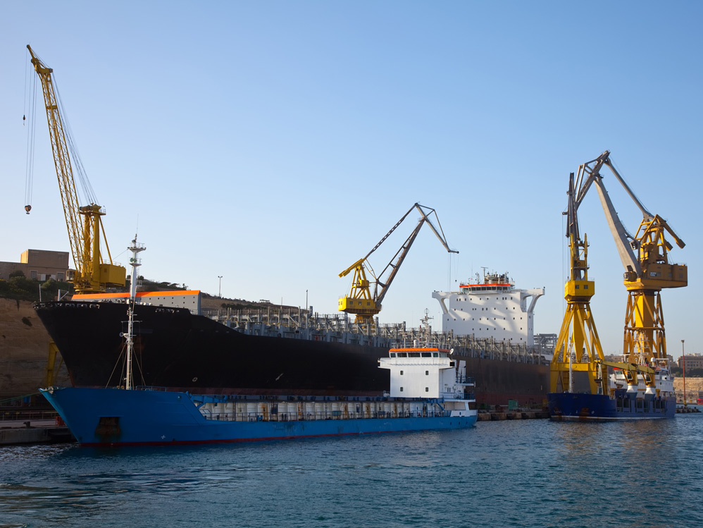 Transport Seefracht