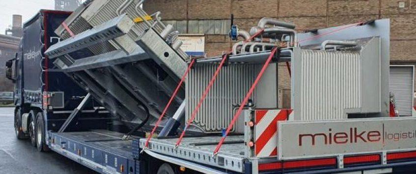 Hydraulik-Schräglader-Sattelauflieger
